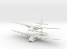 Me-323 (X2) Global War Scale in White Strong & Flexible