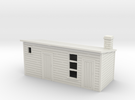 Outhouse For  Old Style House and Officers house1: in White Strong & Flexible