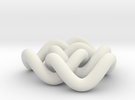 Borromean 6cm, thicker in White Strong & Flexible