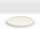 Round Model Base 45mm in White Strong & Flexible