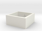 SquareRing_18mmx10mm in White Strong & Flexible