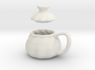 Soup Filled Dumpling Mug in White Strong & Flexible