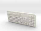 Keyboard in White Strong & Flexible