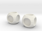 Cube2 in White Strong & Flexible