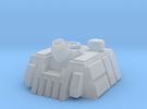 Mortar Turret in Frosted Ultra Detail