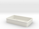 Tpac Microtray Mm 14 in White Strong & Flexible