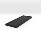 Rectangular Calvary Base in Black Strong & Flexible