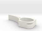TopOpt DoorStop 2 in White Strong & Flexible