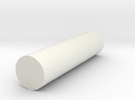 rod poly 6x6x25 in White Strong & Flexible