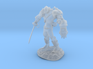Mech Warrior1 20mm high in Frosted Ultra Detail