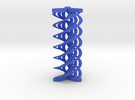 Spirals array in Blue Strong & Flexible Polished