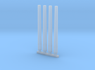 """3""""/50 Mk 33 Spare Gun Barrels - 1/96 scale in Frosted Ultra Detail"""