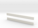 thin bars 5mm width in White Strong & Flexible