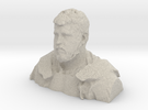 Demo Bust H 1/6th Scale (Large GI Joe) in Sandstone