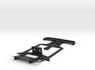 Subchassis V2 Chevron in Black Strong & Flexible