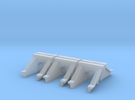 3 Foot Concrete Culvert HO Scale X 6 in Frosted Ultra Detail