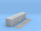 """N-Scale D&RGW """"Fowler Clone"""" Boxcar (K-Brake) in Frosted Ultra Detail"""