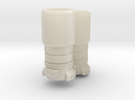 Guillemin coupling for fire truck 2x DN7 in White Acrylic
