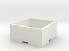 Plant Pot 15x15x6 cm / 5,90x5,90x2,36 in in White Strong & Flexible