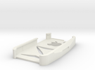 iPhone 4s case Z with apple shape in White Strong & Flexible