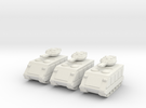 15mm Scorpion AFV w/  Beam Cannons (x3) in White Strong & Flexible