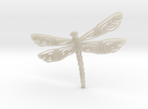 dragonfly in White Acrylic
