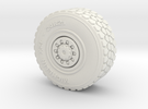 Military wheel for heavy truck in White Strong & Flexible