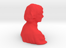 Scan to 3d print? in Red Strong & Flexible Polished