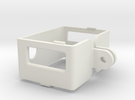 GoPro Frame Mount for HD Hero/HD Hero 2 in White Strong & Flexible