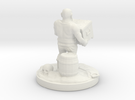 pirate socle 10cm in White Strong & Flexible