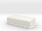 AAA PCB Battery Case in White Strong & Flexible