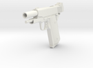 1911 compact blowback in White Strong & Flexible