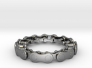 RS CHAIN RING SIZE 8 in Premium Silver