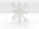 Ice Crystal   in White Strong & Flexible