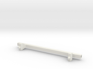Barres Toit Xj in White Strong & Flexible