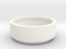 Lux Energy Demonstration Filter Ring in White Strong & Flexible Polished