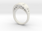 Ring 34 in White Strong & Flexible