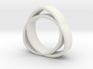 The Trinity Ring in White Strong & Flexible