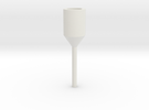 AEG Barrel Drill Adapter (3mm) in White Strong & Flexible