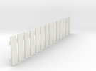 Fence 2 in White Strong & Flexible