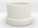 Salt-Pepper-Cap in White Strong & Flexible