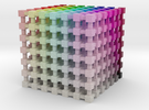 HSL Color Cube: 2 inch in Full Color Sandstone