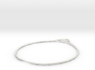 Minimalist Bracelet  in White Strong & Flexible