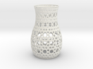 Tealight Sleeve Ovals - Small in White Strong & Flexible