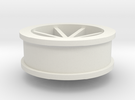 wheel 1 (dnano size) in White Strong & Flexible
