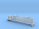 TT Gp38-2 body shell in Frosted Ultra Detail