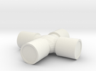 1/10 Scale U-Joint in White Strong & Flexible