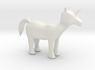 Pony in White Strong & Flexible