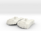 Feet set for Kabaya set 7 Superion in White Strong & Flexible