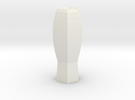 fantasia vase in White Strong & Flexible